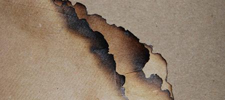Скачать Текстуру обгоревшей бумаги 3