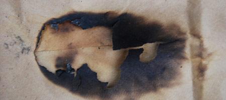 Скачать Текстуру обгоревшей бумаги 5