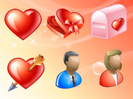 Скачать Delicious Love Icons