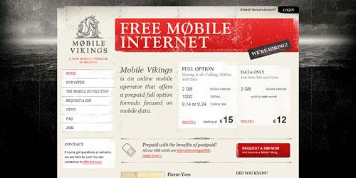 Перейти на Mobile Vikings