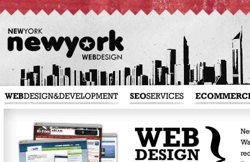 Перейти на New York New York Web Design