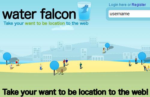 Перейти на Water Falcon