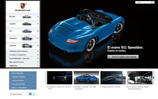 Перейти на Porsche Spain