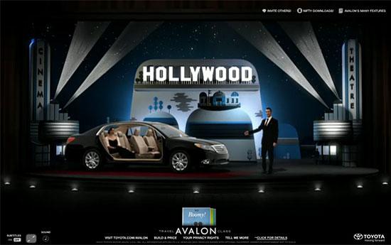 Перейти на Toyota Avalon