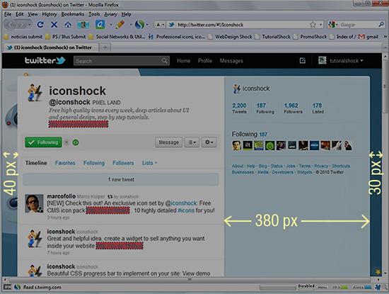 Изменения в дизайне и юзабилити Твиттера и новый вид бэкграунда