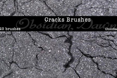 Скачать Cracks Photoshop Brushes