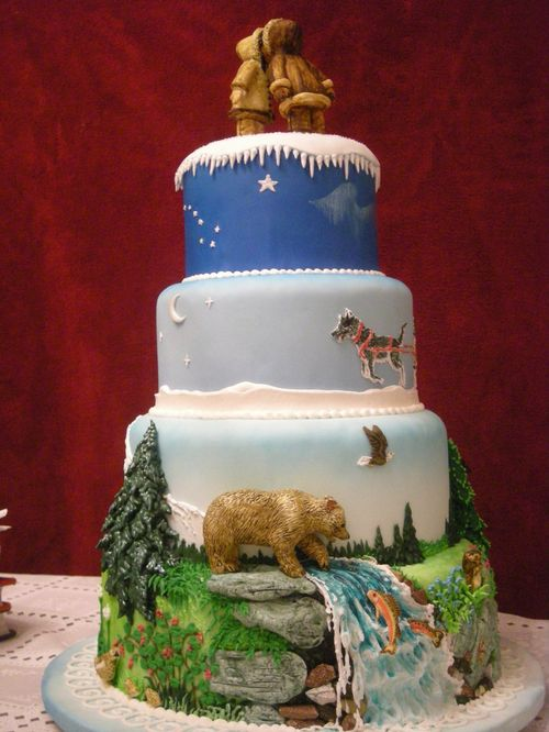 Перейти на Alaska cake: side view by The-EvIl-Plankton
