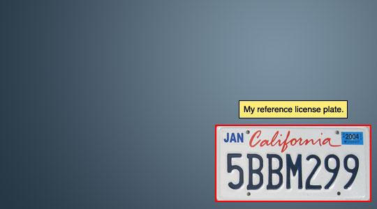 Создаем в фотошопе реалистичный номерной знак для автомобиля