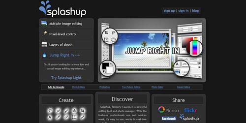 Перейти на Splashup