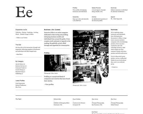 Перейти на Executive Edits