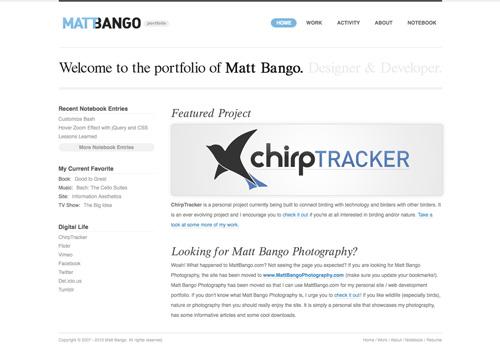 Перейти на Matt Bango