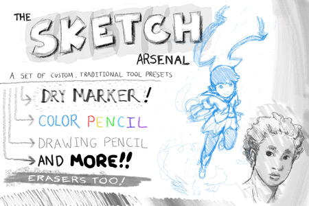 Скачать The Sketch Arsenal