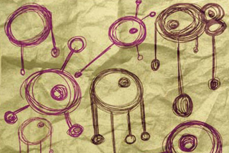 Скачать Brush Set 55 - Sketchy Circles