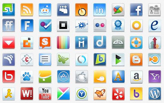 Скачать Social Icons