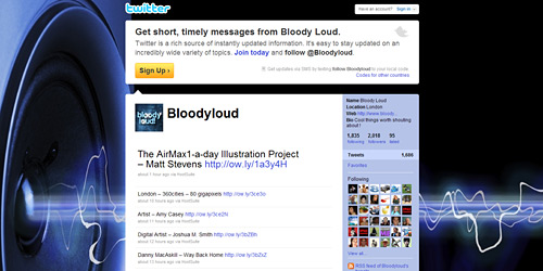 Перейти на @Bloodyloud