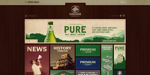 Перейти на Cascade Brewery Co