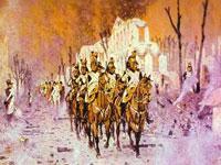 Военный драматизм на батальных полотнах художника Верещагина