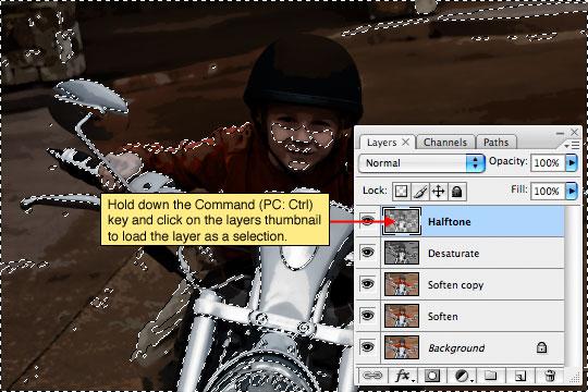 Превращаем с помощью фотошопа обычную фотографию в стильный комикс