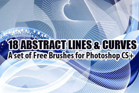 Скачать Abstract Curves Brushes