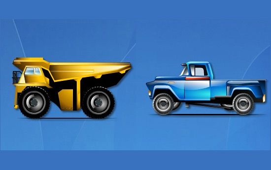 Скачать Brilliant Transportation Icons