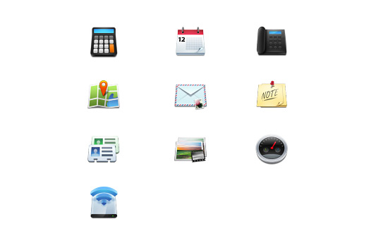 Скачать Mobile Icons
