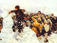 Трагические моменты истории на масштабных полотнах Василия Сурикова