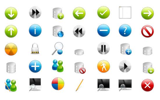 Скачать Ivista Icons By Gakuseisean