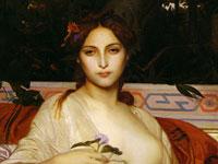 Горящие взгляды, жеманные позы и салонная красивость на картинах Кабанеля