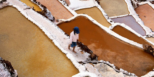 Перейти на Salt Collecting, Peru