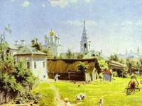 Трогательная русская простота и неброская красота природы на картинах Поленова