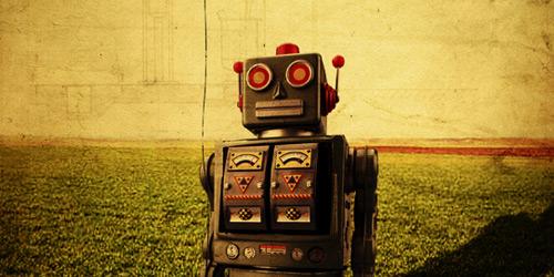 Перейти на sad robot