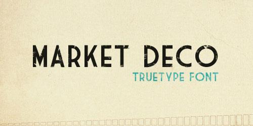 Скачать Market Deco