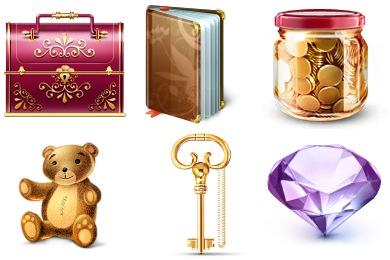 Скачать My Secret Icons By Artdesigner