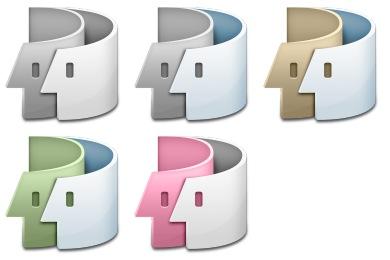 Скачать Swirl Finder Icons By Kjherstin