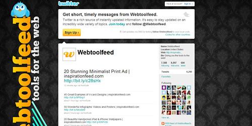 Перейти на @Webtoolfeed