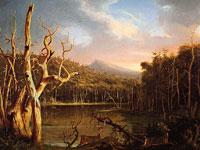 Величественные панорамные пейзажи и люди на картинах Томаса Коула