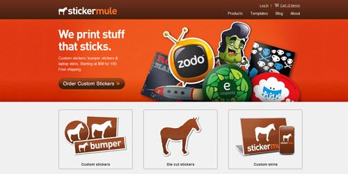 Перейти на Sticker Mule