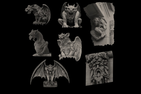 Скачать Gothic Gargoyles