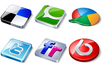 Скачать Social Media Icons By Iconshock