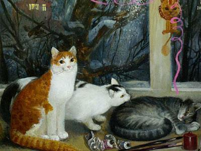 Широкова Инна. Мои коты