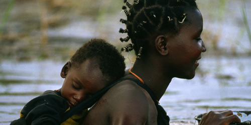 Перейти на Mbukushu Mother and Child, Botswana