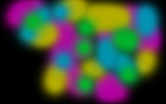 Создаем в фотошопе светящийся цветной эффект для текста
