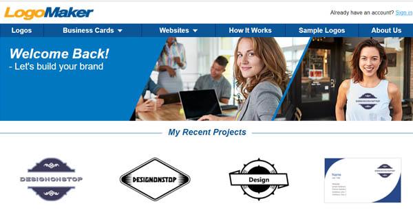 Перейти на Logo Maker