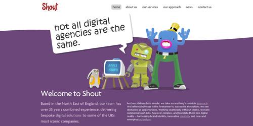 Перейти на Shout Digital