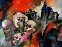 Примеры работ современных художников в стиле авангардизм