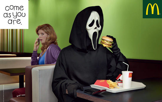 Перейти на McDonald's: Ghost