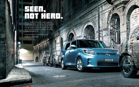 Перейти на Toyota Rukus: Launch