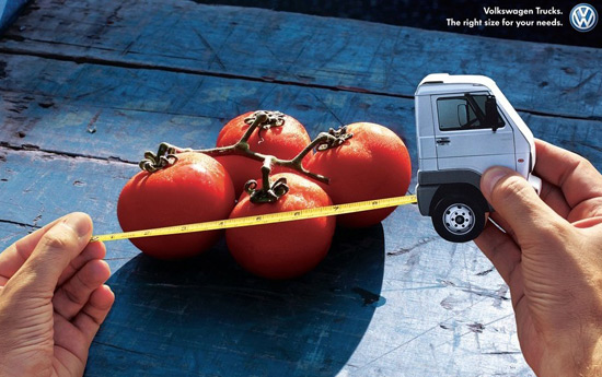 Перейти на Volkswagen Trucks: Right size for your needs, Tomatoes