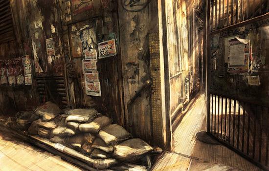 Городские зарисовки Jonas De Ro