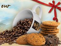 Примеры стильных и аппетитных дизайнов кофейных сайтов